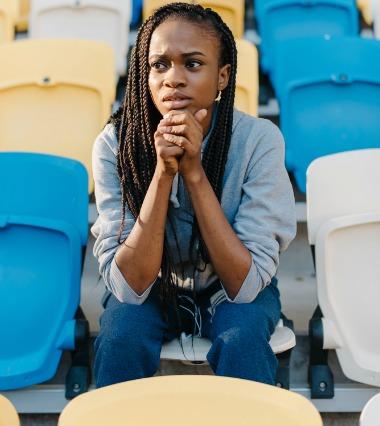 woman-stadium